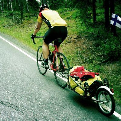 Thomas Soininen on sydänvikainen polkupyöräilijä