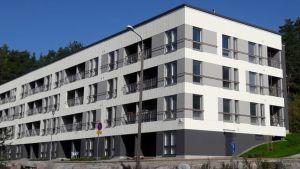 Jyväskylän Säynätsalo Parviaisentie 1:n senioritalo