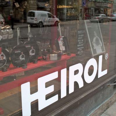 S:t Karinsföretaget Heirol har också en egen butik i Åbo.