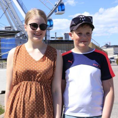Martta ja Matias Paananen.