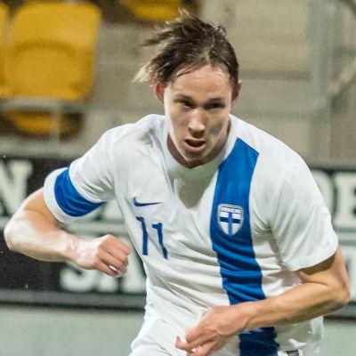 Lassi Lappalainen i U21-landslaget.