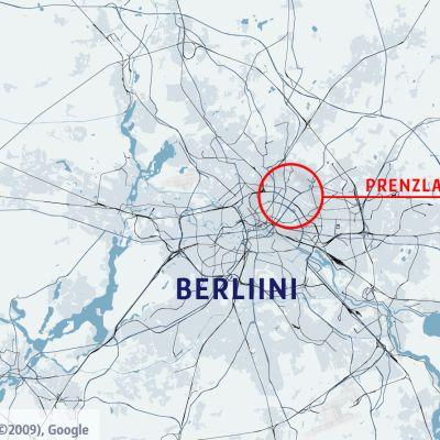 Berliinin kartta.