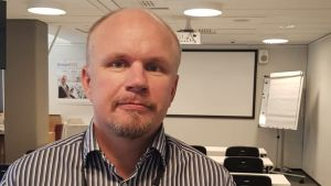 Tero Roivainen är vd för Suomen Ensiapu Oy.