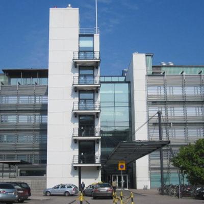 Forsknings- och undervisningscentret Biomedicum.