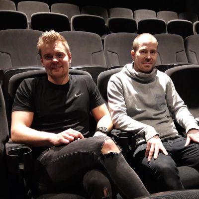 Kino Piispanristin yrittäjät Antti Juntunen ja Henry Erkkilä.