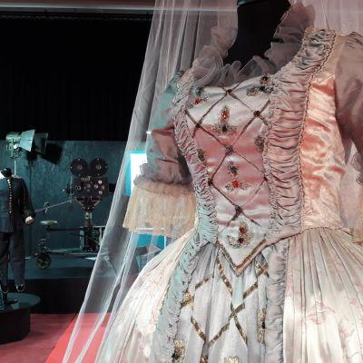 Kuningattaren puku Prinsessa Ruusunen -elokuvasta