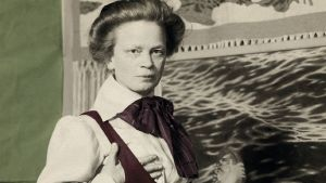 """Pärmbild till boken om Ida Bäckmann, """"Den umbärliga"""""""
