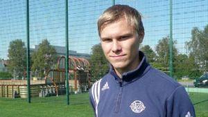 Mika Lahtinen i RoPS våren 2012