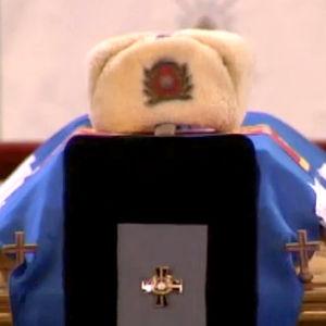 Adolf Ehrnroothin arkku Helsingin tuomiokirkossa (2004).