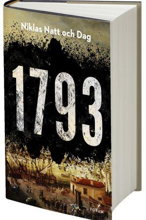 """Boken """"1793"""" av Niklas Natt och Dag."""