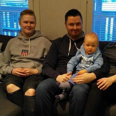 Jere, Kimmo, Jare och Arja Pernu