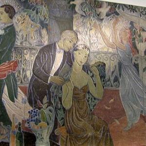 Tove Janssons fresk Fest i stan