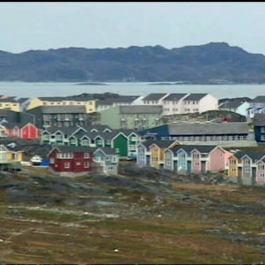 Grönlands huvudstad Nuuk