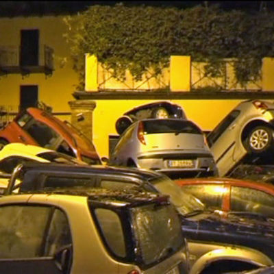 Översvämningar i Genua