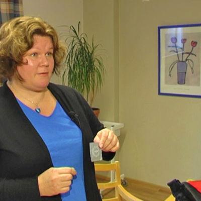 Suss Åhman, sexualterapeut från Folkhälsan.