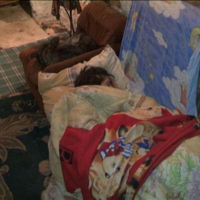 Fattiga bor i avlopssystem i Bukarest