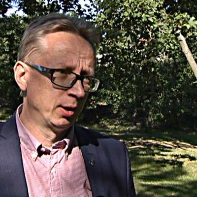 Jukka Ollikainen är kommundirektör i Mäntyharju