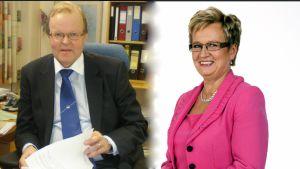 Gösta Willman och Ulla-Maj Wideroos