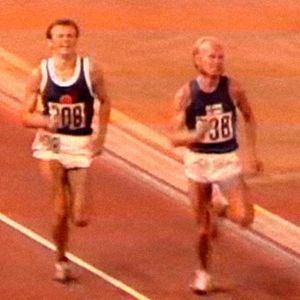 Juha Väätäinen voittaa 10 000 metrin EM-kultaa (1971).