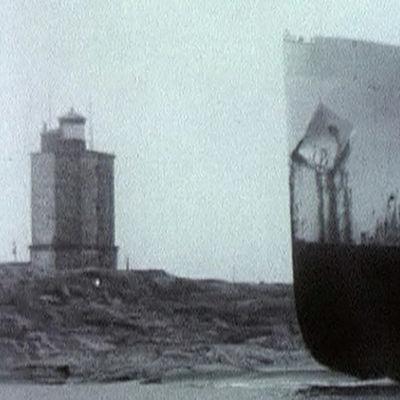 M/S Torsholmin hylky Utön edustalla.