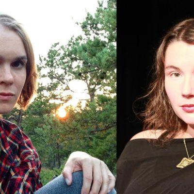 Anna-Mari Karvonen och Sofia Aminoff