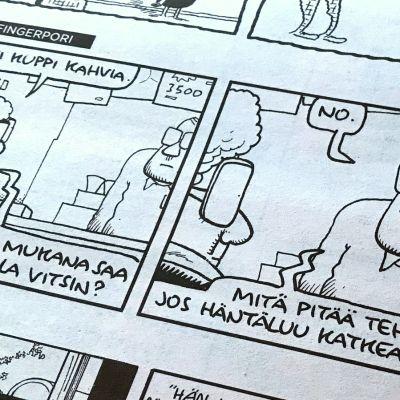 Fingerpori-sarjakuva