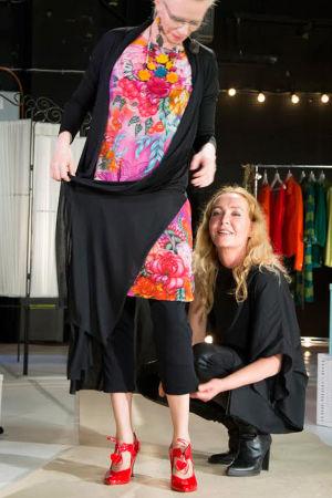 Outi Broux stailasi Tuhkimotarinoiden Nannalle klassikoihin perustuvan pukeutumistyylin.