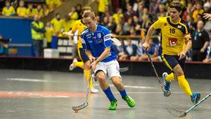 Innebandylandskamp Finland-Sverige