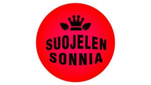Suojelen sonnia -logo