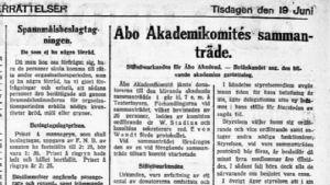 Åbo Underrättelser 19 juni 2017