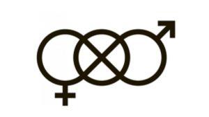 Icke-binär symbol.