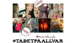 Skärmkapning från Jessica Edströms blogg