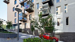 Satos bostäder i Helsingfors