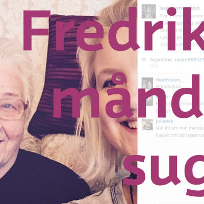 Fredika Llindholm och famo Lindholm.