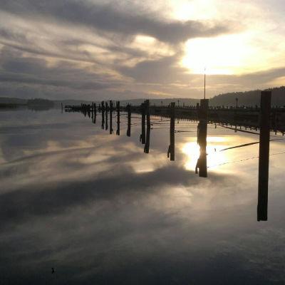 Snäckvikens båtbrygga i Pargas.