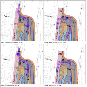 Plan för området kring Karis järnvägsbro