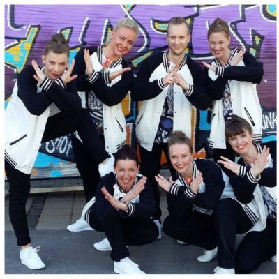 Dansguppen från Kipinä som tog FM-guld i streetdance.