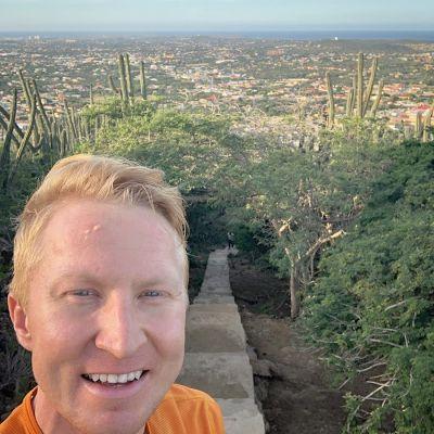 426 trappsteg förde viralfenomenet Mårten Boström till Aruba