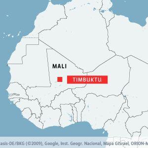Timbuktu i Mali