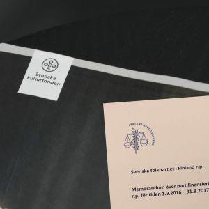Svenska Kulturfondens logo i Medborgarbladet.