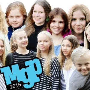 Artisterna i MGP 2016