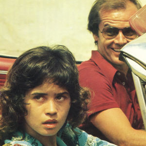 Jack Nicholson ja Maria Schneider elokuvassa Ammatti: reportteri.