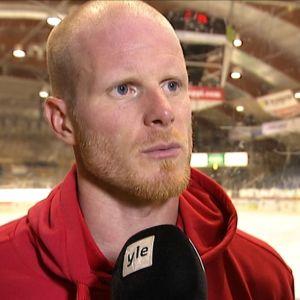 Toni Söderholm, kapten i Helsingfors IFK.