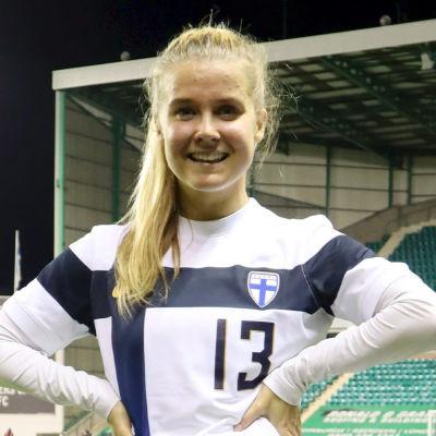 Finlands matchhjälte i EM-kvalet borta mot Skottland.