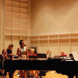 laulaja ja orkesteri