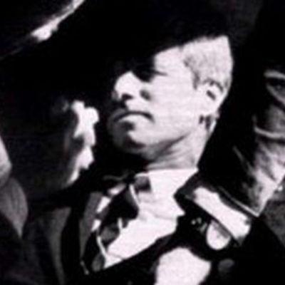 Laukauksesta osuman saanut Robert Kennedy vuonna 1968.