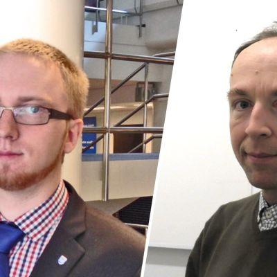 Simon Elo och Jussi Halla-aho