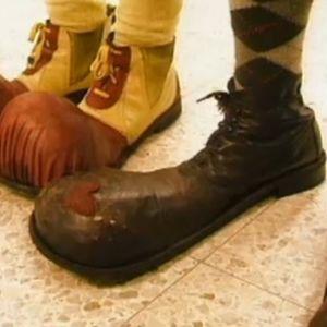 Tamppaajien kengät.