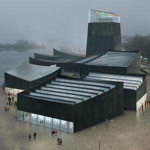 Vinnaren Art in the city i Guggenheims arkitekttävling