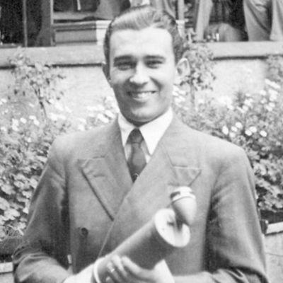 Toimittaja Veikko Itkonen 1940-luvulla.
